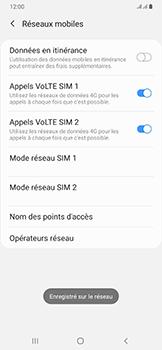 Samsung Galaxy A50 - Réseau - Sélection manuelle du réseau - Étape 14