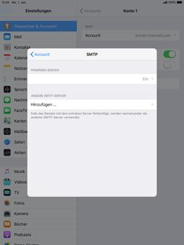Apple iPad Pro 9.7 inch - E-Mail - Konto einrichten - 22 / 30