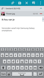 Samsung Galaxy S5 Mini - e-mail - hoe te versturen - stap 17