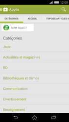 Sony Xperia Z2 - Applications - Installation d