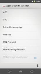 Sony Xperia Z1 - Internet - Manuelle Konfiguration - Schritt 13