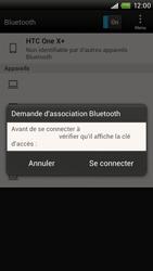 HTC S728e One X Plus - Bluetooth - connexion Bluetooth - Étape 10