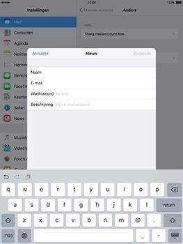 Apple iPad mini 4 iOS 10 - E-mail - e-mail instellen: POP3 - Stap 8