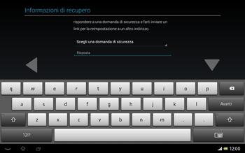 Sony Xperia Tablet Z LTE - Applicazioni - Configurazione del negozio applicazioni - Fase 13