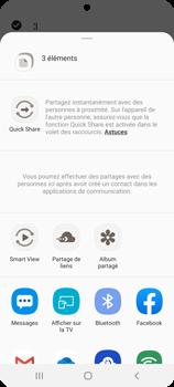 Samsung Galaxy S20 - Photos, vidéos, musique - Envoyer une photo via Bluetooth - Étape 11