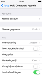 Apple iPhone 5 iOS 9 - E-mail - Handmatig instellen - Stap 4