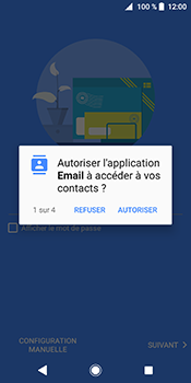 Sony Xperia XZ2 - E-mails - Ajouter ou modifier votre compte Outlook - Étape 10