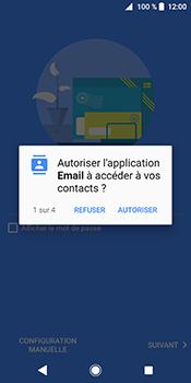 Sony Xperia XZ2 - E-mail - Configuration manuelle (outlook) - Étape 10