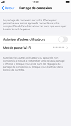 Apple iPhone SE (2020) - iOS 14 - WiFi - Comment activer un point d'accès WiFi - Étape 6