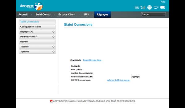 Huawei E587 - Sécuriser votre mobile - Personnaliser le code PIN - Étape 3