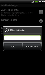 HTC S510e Desire S - SMS - Manuelle Konfiguration - Schritt 7