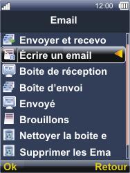 Sonim XP3300 Force - E-mail - Envoi d