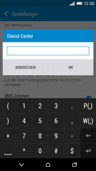HTC One Mini 2 - SMS - Manuelle Konfiguration - Schritt 9
