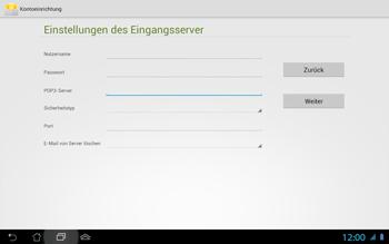 Asus Padfone 2 - E-Mail - Konto einrichten - Schritt 12