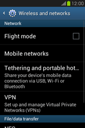 Samsung S6810P Galaxy Fame - Internet - Manual configuration - Step 5
