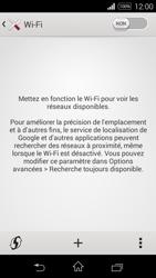 Sony Xpéria E3 - Internet et connexion - Accéder au réseau Wi-Fi - Étape 5