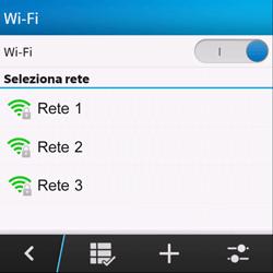 BlackBerry Q10 - WiFi - Configurazione WiFi - Fase 7