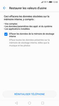 Huawei Mate 9 - Téléphone mobile - Réinitialisation de la configuration d