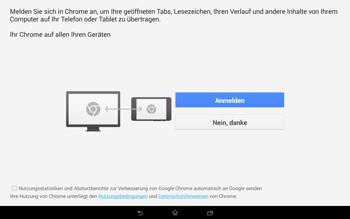 Sony Xperia Tablet Z2 LTE - Internet und Datenroaming - Verwenden des Internets - Schritt 4