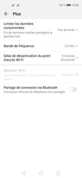 Huawei Nova 5T - Internet et connexion - Utiliser le mode modem par USB - Étape 6