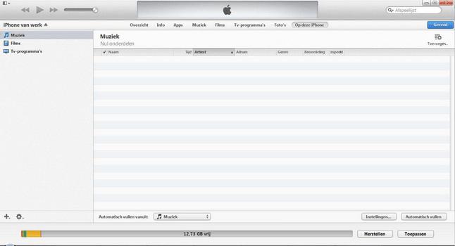 Apple iPhone 4 met iOS 7 - Software - PC-software installeren - Stap 16