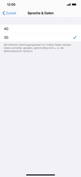 Apple iPhone XS Max - iOS 14 - Netzwerk - So aktivieren Sie eine 4G-Verbindung - Schritt 6