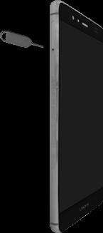 Huawei P9 Sim Karte Einlegen.Sim Karte Einlegen P9 Gerätehilfe