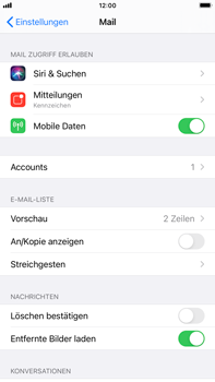 Apple iPhone 6s Plus - iOS 14 - E-Mail - 032c. Email wizard - Outlook - Schritt 9