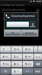 Sony Xperia Ray - Voicemail - Handmatig instellen - Stap 7