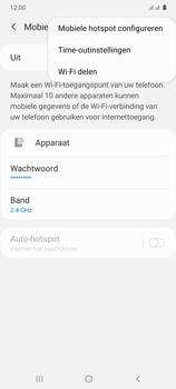 Samsung Galaxy A41 Dual-SIM (SM-A415F) - WiFi - Mobiele hotspot instellen - Stap 8
