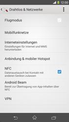 Sony Xperia M2 - Netzwerk - Netzwerkeinstellungen ändern - 5 / 8