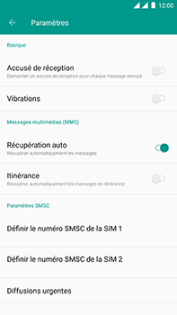 OnePlus 3 - Android Oreo - SMS - Configuration manuelle - Étape 6