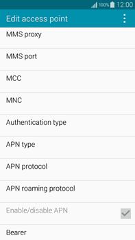 Samsung N910F Galaxy Note 4 - MMS - Manual configuration - Step 11