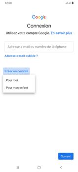 Samsung Galaxy A31 - Applications - Créer un compte - Étape 6