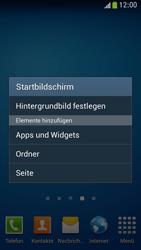 Samsung Galaxy S 4 Mini LTE - Startanleitung - Installieren von Widgets und Apps auf der Startseite - Schritt 4
