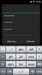 Sony Ericsson Xperia Ray mit OS 4 ICS - WLAN - Manuelle Konfiguration - 0 / 0
