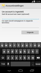 Motorola Moto G (1st Gen) (Kitkat) - E-mail - handmatig instellen - Stap 17