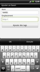HTC X515m EVO 3D - Internet - Navigation sur Internet - Étape 9