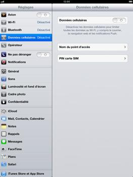 Apple iPad Retina - Internet et roaming de données - Configuration manuelle - Étape 4