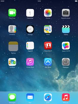Apple iPad Air - Prise en main - Personnalisation de votre écran d