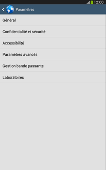 Samsung T315 Galaxy Tab 3 8-0 LTE - Internet - Configuration manuelle - Étape 22