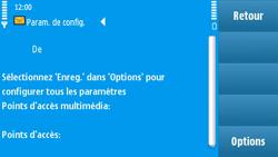 Nokia N97 - MMS - Configuration automatique - Étape 6