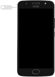 Motorola Moto G5s - SIM-Karte - Einlegen - 2 / 8