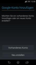 Sony Xperia E3 - Apps - Konto anlegen und einrichten - 4 / 25