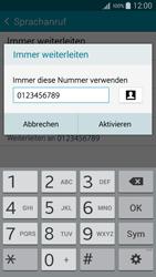 Samsung A300FU Galaxy A3 - Anrufe - Rufumleitungen setzen und löschen - Schritt 10