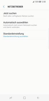 Samsung Galaxy S8 - Netzwerk - Manuelle Netzwerkwahl - Schritt 7