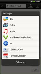 HTC One X - MMS - Erstellen und senden - 11 / 18