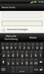 HTC T320e One V - E-Mail - Konto einrichten - Schritt 7