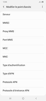 Samsung Galaxy A50 - Internet - configuration manuelle - Étape 18