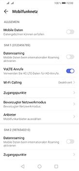 Huawei P30 Lite - Internet und Datenroaming - Prüfen, ob Datenkonnektivität aktiviert ist - Schritt 5